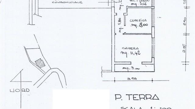 Appartamento Abetone Faidello Mq 45 Tre Vani con Giardino